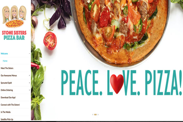 Stone Sisters' Pizza Website